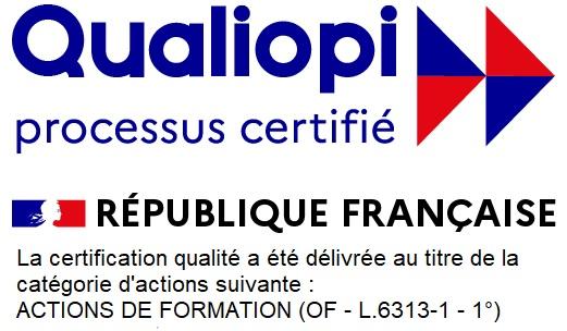 Qualiopi Processus Certifié. République Française